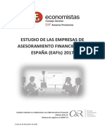 Estudio Sector EAFI 2017
