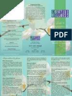 Acupuncture Brochure
