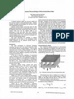 5.Optimum Thermal Design of Microchannel
