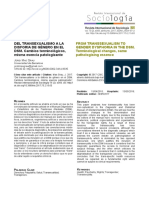 Del Transexualismo a La Disforia de Género en El DSM. Cambios Terminológicos, Misma Esencia Patologizante ; From Transsexualism to Gender Dysphoria in the DSM. Terminological Changes, Same Pathologising Essence