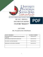 English Proficiency 4 Report