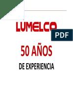 Lumelco Absorcion Simple y Doble Efecto 2013