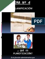 Tema Nº 3.1 Planificación