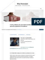 Bloghamangiu Ro Unele Probleme de Procedura Civila in Materi