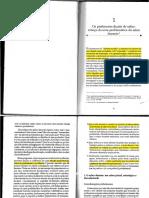 Capítulo - Os Professores Diante Do Saber Esboco de Uma Problematica Do Saber Docente - Tardif (Professores)