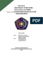 Bismillah Kedokteran Industri (Laundry)