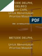 Contoh Metode Delphi Delbeg Carl Rev