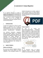 Laboratorio Campo Magnetico, Fisica electricidad y magnetismo