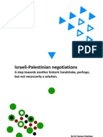 Israeli Palestinian Negotiations