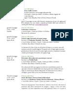 Educare Alla Lettura - Programma 10 - 14 maggio 2018