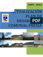 ACTUALIZACIÓN PLAN DE DESARROLLO COMUNAL FRESIA 2009-2014