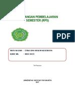 Rps Etika Umum Dan Hukum Kesehatan