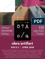 Obra Artifact Issue5 April2018 Multilingual