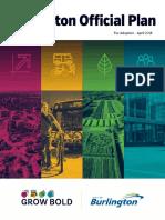 The City of Burlington Official Plan April 2018