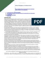 Corrientes Pedagogicas Contemporaneas