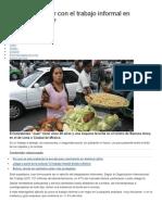 Cómo TERMINAR Con El Mercado Informal en AL BBCMUNDO