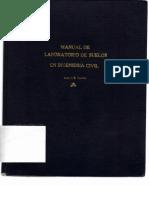 Manual de Laboratorio de Suelos en Ingenieria Civil de Joseph Bowles