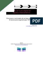 Diccionario Multimedia de Artistas Venezolanos
