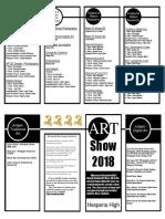 art show program 2018