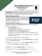 Ejercicios de Algebra Lineal.