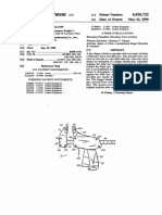 US4926722 Quick-Action Bar Clamp