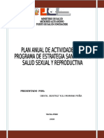 Plan Planifiacion Familiar