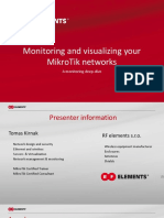 Monitoring your mikrotik network