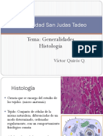 Clase I Generalidades Histologia