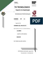 Proyecto de Restauracion La Casona Morelia