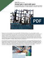 DESEMPENHO PROFISSIONAL - Gestão de Pessoas Por Competência e Desempenho - Artigo Istoé