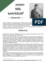 Arhimandrit Daniil Gouvalis - Despre 666