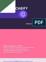 Manual de Uso Cabify Julio 2017