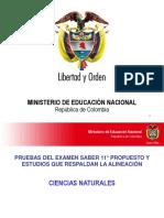 Presentacion Area de Ciencias Naturales