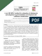 Adapaleno -Clindamicina Gel HPLC