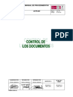 P-gc-001. Control de Los Documentos