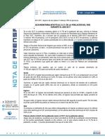 Nota de Prensa N° 063-2018-INEI