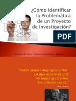 ¿Cómo Identificar La Problemática de Un Proyecto de Investigación