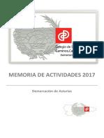 Memoria 2017 Asturias