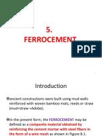 5 Ferrocement