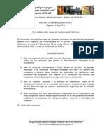 Proyecto de Acuerdo No 0011