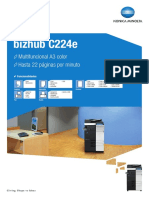 Bizhub c224e Datasheet Sp
