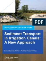(UNESCO-IHE Delft Lecture Note Series) Herman Depeweg, Krishna P. Paudel, Néstor Méndez V-Sediment Transport in Irrigation Canals_ A New Approach-CRC Press (2014).pdf