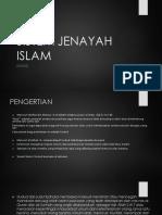 Sistem Jenayah Islam