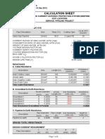 Calculation Cathodic Protection ICCP Duri Dumai PGDD