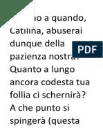 Cicerone PDF Testi