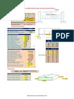 Diseño estructural de cruce aéreo