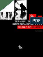 Terminal Terrestre Interprovincial en La Ciudad de Huaraz