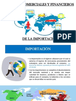 Importación - Aspectos Comerciales y  financieros