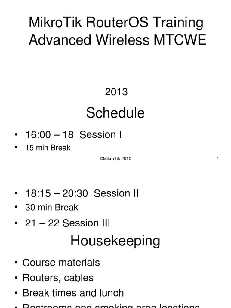 Mikrotik MTCWE Wireless Antiguo   Radius