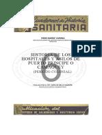 Historia de Los Hospitales y Asilos de Puesto Principe o Camaguey (Periodo Colonial)
